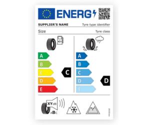 Nowy wygląd etykiety UE na opony zimowe