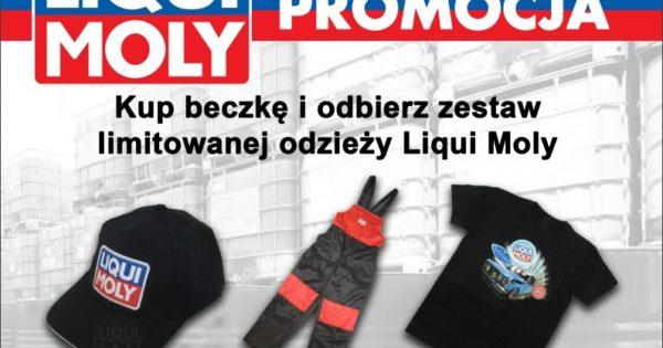 Promocja Liqui Moly z limitowaną serią ubrań