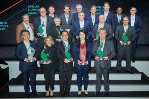 Brembo wyróżnione Daimler Supplier Award