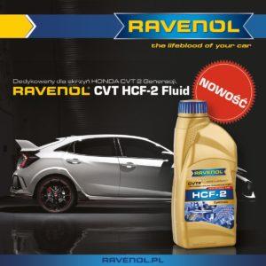 Nowość w ofercie Ravenol – RAVENOL CVT HCF-2 Fluid