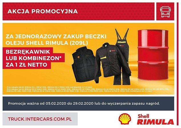 Bezrękawniki i kombinezony w promocji Shell