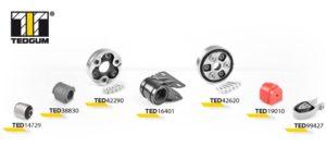 Nowe produkty dla pojazdów europejskich oraz amerykańskich w TEDGUM