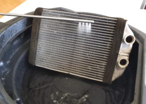Podczas dezynfekcji klimatyzacji parownik wymaga szczególnej uwagi