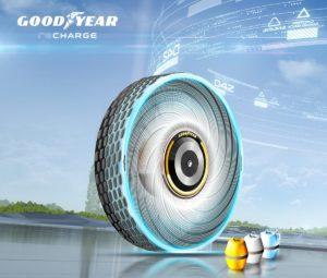 Goodyear prezentuje koncepcję samoodnawialnych opon