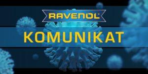 Działalność marki Ravenol pozostaje bez zmian