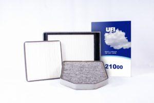 Rozszerzenie gamy filtrów kabinowych UFI i SOFIMA o 135 referencji