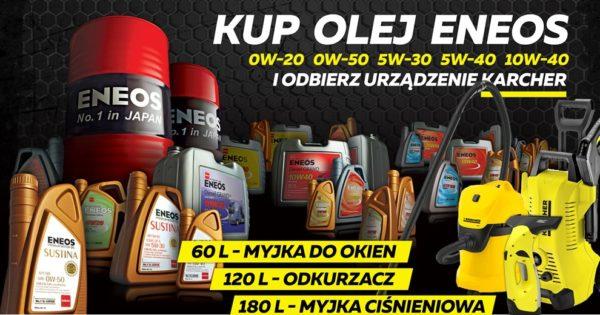 Urządzenie Karcher za zakup oleju ENEOS