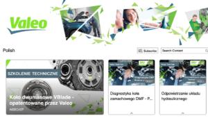 Nowe szkolenia techniczne Valeo online