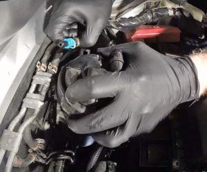 Wymiana filtra paliwa w silnikach JTD – film Blue Print