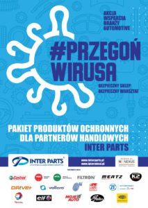 #przegońwirusa – Kampania Inter Parts