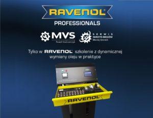 Szkolenie Ravenol z dynamicznej wymiany oleju