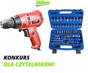 Konkurs Valeo – wygraj zestaw kluczy, wiertarko-wkrętarkę lub wycieraczki!