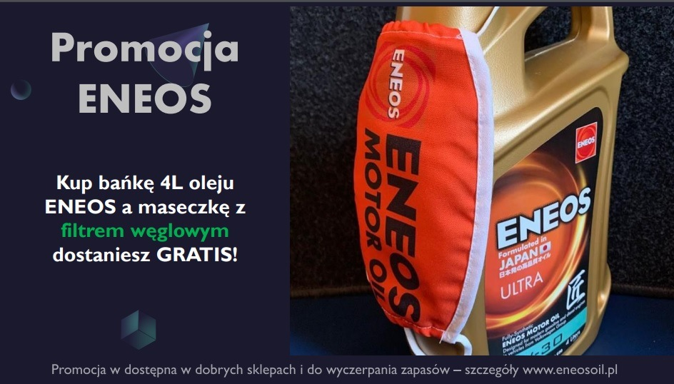 Olej silnikowy ENEOS z prezentem