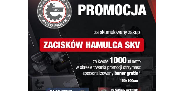 Promocja SKV – baner z danymi Twojej firmy gratis