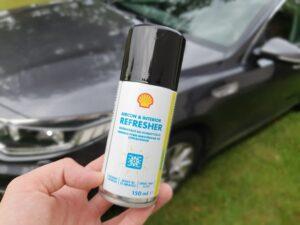 Odświeżacz do klimatyzacji (Aircon & Interior Refresher) i Aerozol wielofunkcyjny (Multifunction Spray)  – testujemy nowe produkty Shell