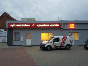 Nowa siedziba filii Auto Land w Ornecie