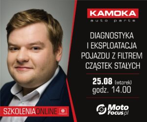 Diagnostyka i eksploatacja pojazdu z DPF – szkolenie online dla Czytelników MotoFocus.pl