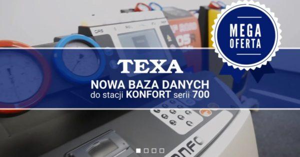 Promocja TEXA na aktualizację bazy danych