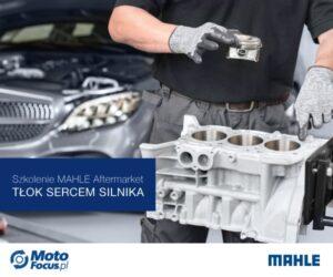 Tłok sercem silnika – szkolenie online dla Czytelników MotoFocus.pl