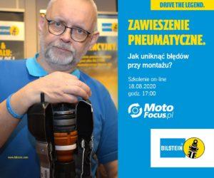 Zawieszenie pneumatyczne – jak unikać błędów przy montażu? – szkolenie online dla Czytelników MotoFocus.pl