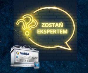 """Miesiąc wiedzy w promocji """"VARTA. Wystartuj na nowo""""."""