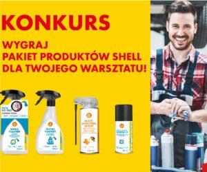 Wygraj pakiet produktów Shell dla Twojego warsztatu!