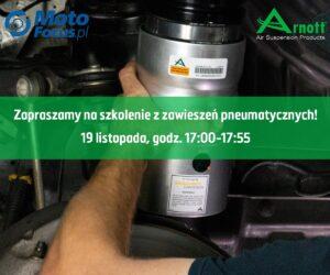 Zawieszenie pneumatyczne – szkolenie online dla Czytelników MotoFocus.pl