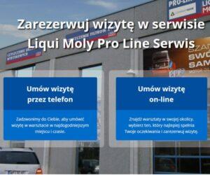 Liqui Moly Serwis Booking – platforma do umawiania wizyt w warsztatach