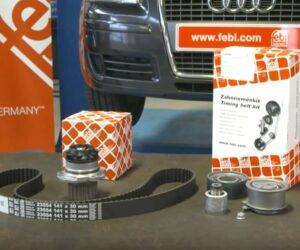 Kontrola i wymiana paska rozrządu silnika – film instruktażowy febi