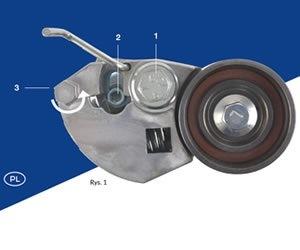 Blue Print: ustawianie napinacza paska rozrządu w autach Kia i Hyundai