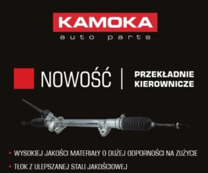 KAMOKA wprowadza do oferty przekładnie kierownicze