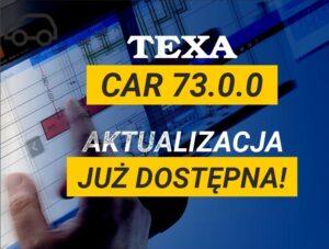 Aktualizacja oprogramowania TEXA IDC5 CAR 73.0.0