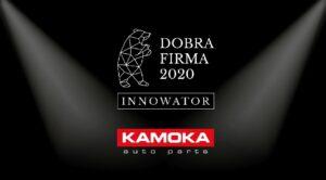 Właściciel marki KAMOKA z nagrodą