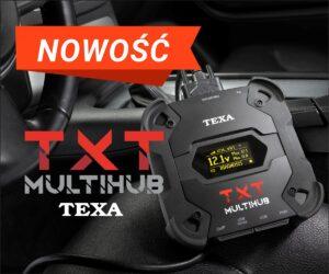 TEXA wprowadza nowy interfejs diagnostyczny TXT MULTIHUB