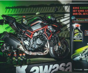 Współpraca firm Kawasaki i Motul