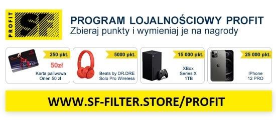 Program lojalnościowy SF-FILTER PROFIT