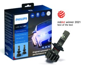 Logo Red Dot ponownie na opakowaniach retrofitów LED Philips