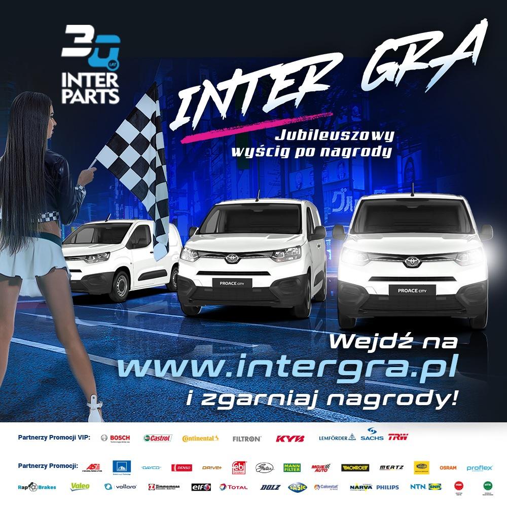 Inter Parts uruchomił jubileuszową akcję promocyjną pt. INTER GRA