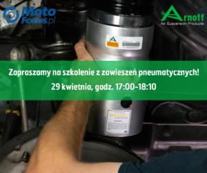 Zawieszenia pneumatyczne – szkolenie online dla Czytelników MotoFocus.pl
