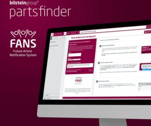 Nowe narzędzie w wyszukiwarce bilstein group Partsfinder