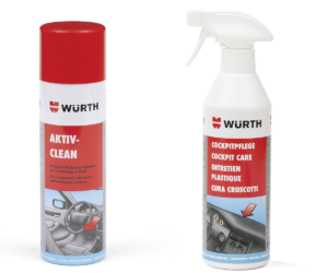 Środki do czyszczenia wnętrza auta Würth Polska