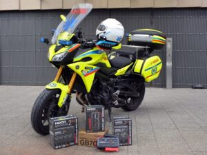 NOCO wspiera ratowników medycznych na motocyklach