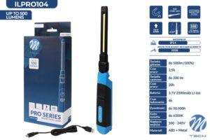 ILPRO104 – lampa inspekcyjna z najnowszej serii produktów M-TECH PRO