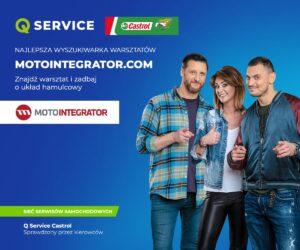 Drużyna Q Service Castrol poleca Motointegrator