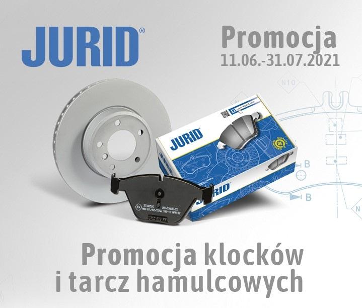 Promocja na tarcze i klocki hamulcowe JURID w Inter Parts