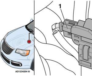 Chrysler Grand Voyager: lampka ostrzegawcza niesprawności silnika