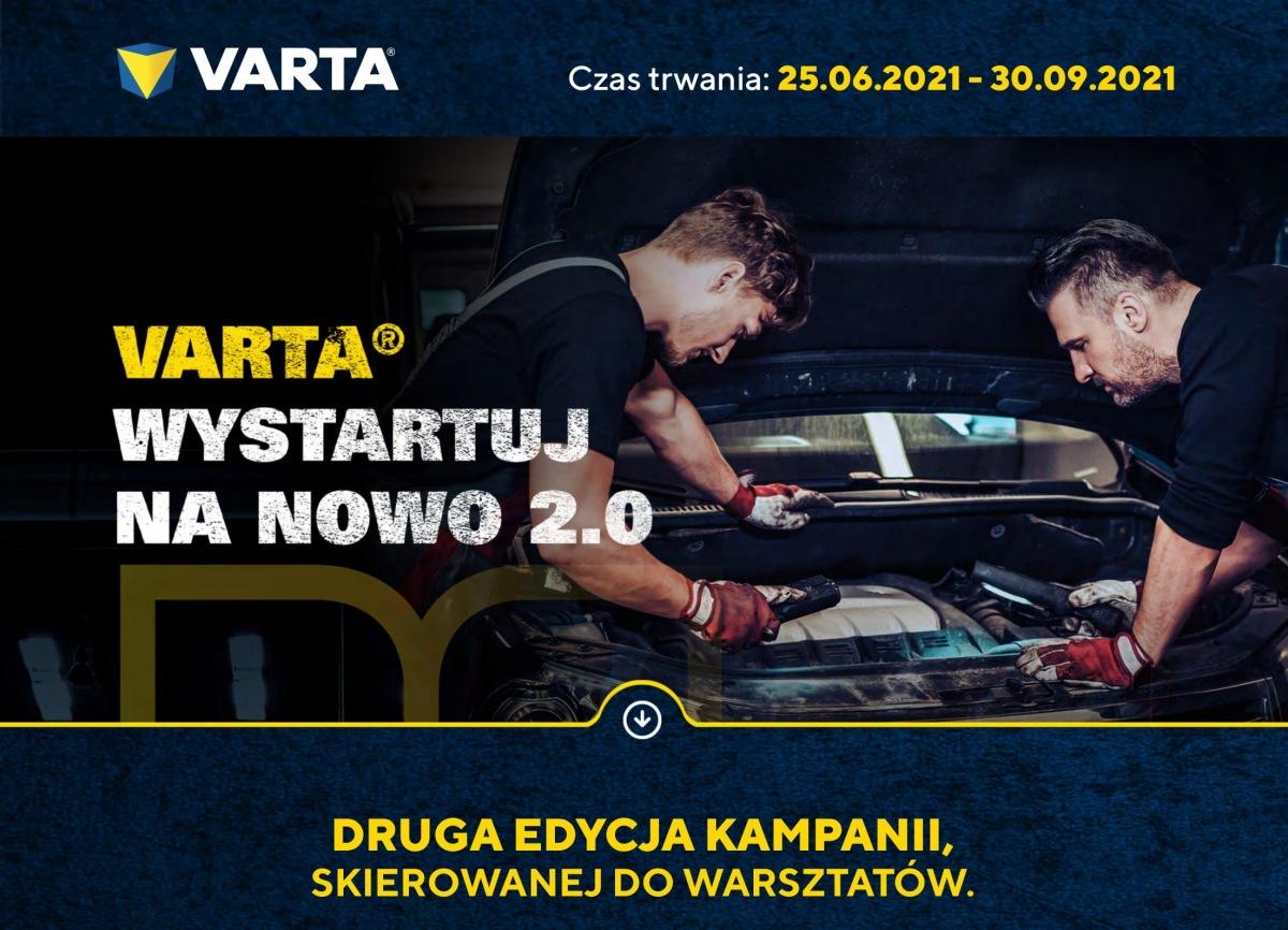 """Trwa kampania """"VARTA. Wystartuj na Nowo 2.0"""""""