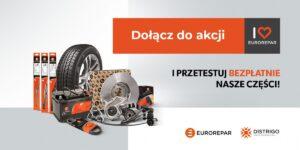 DISTRIGO rozda pakiety części w ramach akcji I LOVE EUROREPAR