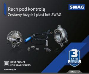 """""""Ruch pod kontrolą"""" – Nowa kampania SWAG poświęcona zestawom łożysk i piast kół"""