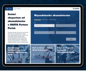 Clarios ulepsza platformę VARTA® Partner Portal